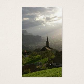 Dornbirn Oberfallenberg Austria Business Card