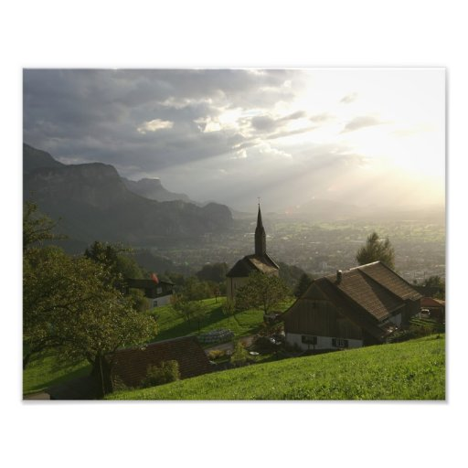 Dornbirn Oberfallenberg Austria Fotografia