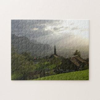 Dornbirn Oberfallenberg Austria Jigsaw Puzzle