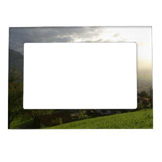 Dornbirn Oberfallenberg Austria Magnetic Picture Frame