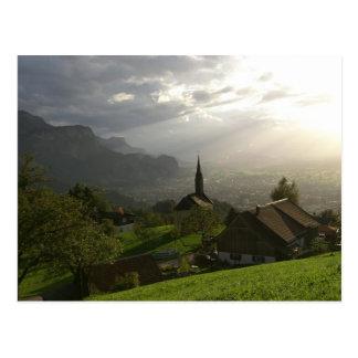 Dornbirn Oberfallenberg Austria Postcard