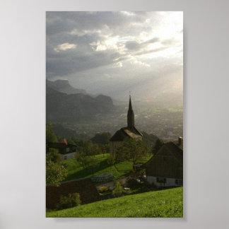 Dornbirn Oberfallenberg Austria Poster