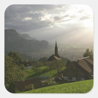 Dornbirn Oberfallenberg Austria Square Sticker
