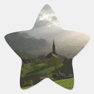 Dornbirn Oberfallenberg Austria Star Sticker