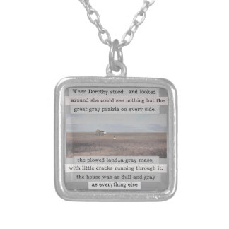 Dororthy's Kansas Original with Words Necklace