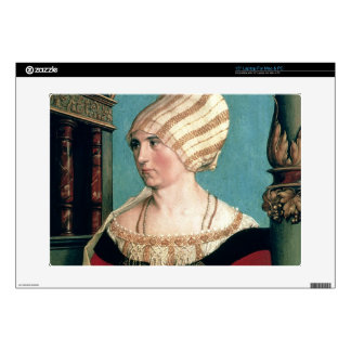 """Dorothea Kannengiesser, 1516 (tempera on limewood) Decal For 15"""" Laptop"""