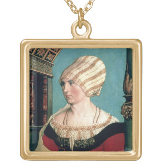 Dorothea Kannengiesser, 1516 (tempera on limewood) Gold Plated Necklace