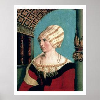 Dorothea Kannengiesser, 1516 (tempera on limewood) Poster