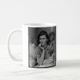 Dorothea Lange's Migrant Mother Florence Thompson Coffee Mug