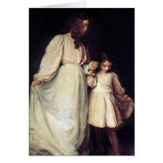 Dorothea y Francisca Tarjeta De Felicitación