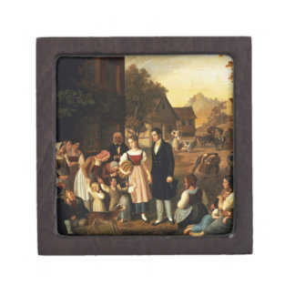 Dorothea's Farewell, from Goethe's 'Hermann and Do Gift Box