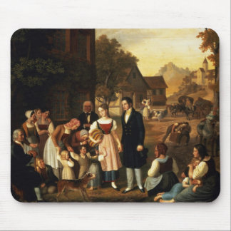 Dorothea's Farewell, from Goethe's 'Hermann and Do Mouse Pad
