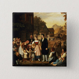 Dorothea's Farewell, from Goethe's 'Hermann and Do Pinback Button