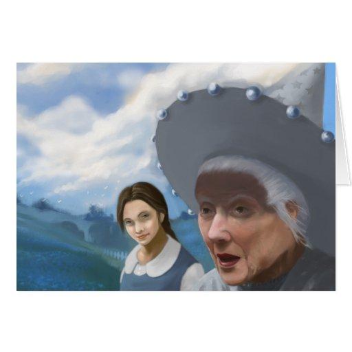 Dorothy and Tattypoo Card