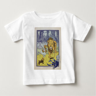 Dorothy and the Cowardly Lion from Wizard of Oz Baby T-Shirt