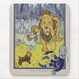 Dorothy and the Cowardly Lion from Wizard of Oz Mouse Pad