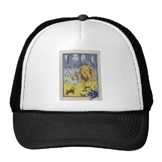 Dorothy and the Cowardly Lion from Wizard of Oz Trucker Hat