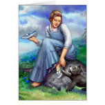 Dorothy and the Silver Shoes Stationery Note Card