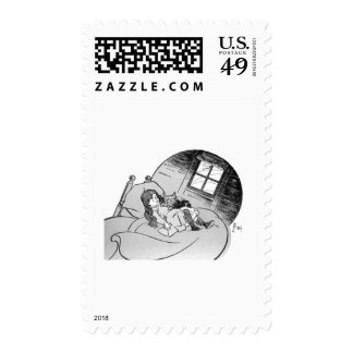 Dorothy and Toto Postage
