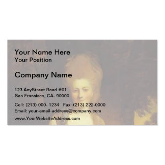 Dorothy, Countess of Lisburne by Joshua Reynolds Double-Sided Standard Business Cards (Pack Of 100)