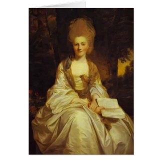 Dorothy, Countess of Lisburne by Joshua Reynolds Greeting Card