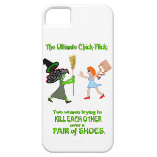 Dorothy, Elphaba, and a pair of shoes iPhone SE/5/5s Case