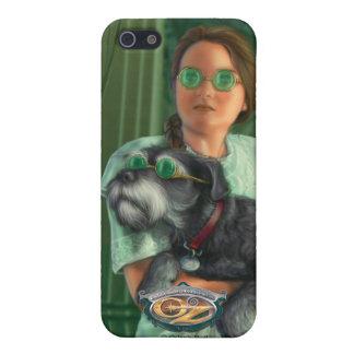 Dorothy en la ciudad esmeralda iPhone 5 fundas