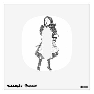 Dorothy Gale O Decale. Wall Sticker