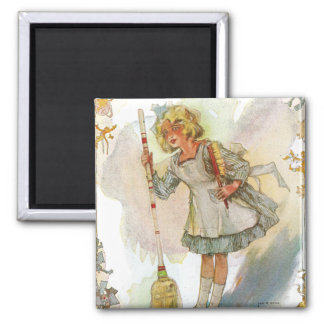 Dorothy hace el vintage onza del quehacer doméstic imanes de nevera