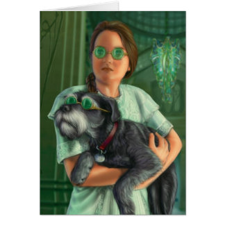 Dorothy in the Emerald City Greeting Card