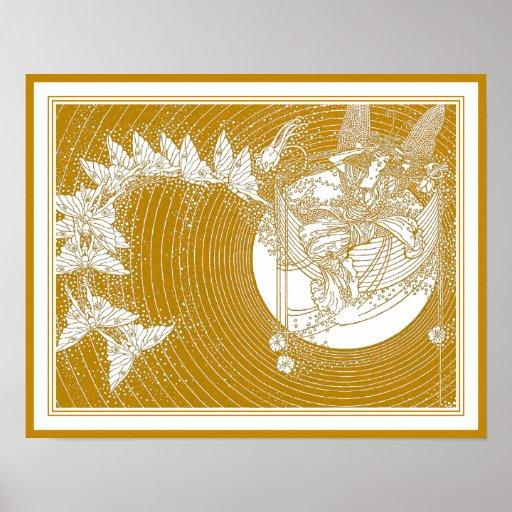 Dorothy Lathrop: Boat of Dreams Fairy Illustration Poster