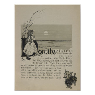 Dorothy Lived In Great Kansas Prairies Posters