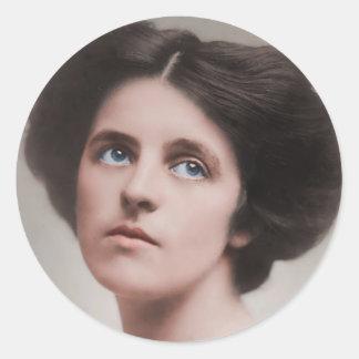 Dorothy Parker 1893-1967 Classic Round Sticker
