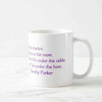 "Dorothy Parker ""I Love a Martini"" Mug"