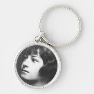 Dorothy Parker Keychain