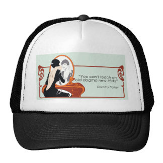 Dorothy Parker Quote Hats