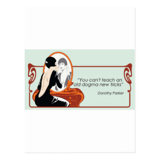 Dorothy Parker Quote Postcard