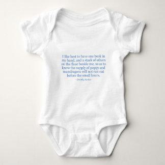 Dorothy Parker's Poppy And Mandragora Baby Bodysuit