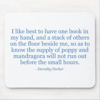 Dorothy Parker's Poppy And Mandragora Mouse Pad