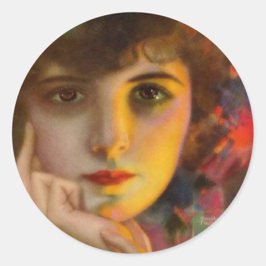 Dorothy Phillips Classic Round Sticker