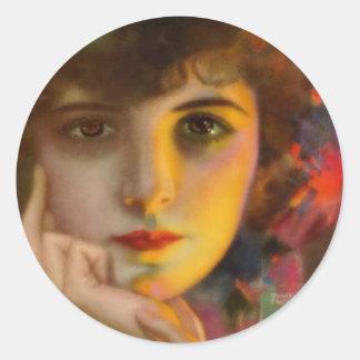 Dorothy Phillips Pegatina Redonda