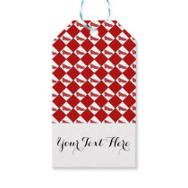 Dorothy Ruby Slippers Pattern Personalized Gift Tags