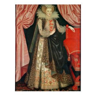 Dorothy St. John, Lady Cary, c.1614 Postcard