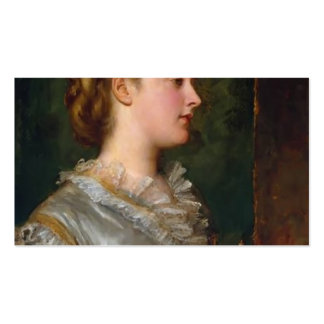 Dorothy Tennant by George Watts Double-Sided Standard Business Cards (Pack Of 100)