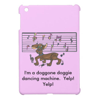 Dorothy The Dancing Dachshund iPad Mini Cases