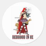 Dorothy The Redhood Series 라운드형스티커