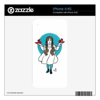 Dorothy: The Wonderful Wizard of Oz iPhone 4S Skin