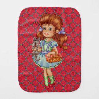 Dorothy & Toto Too Baby Burp Cloth
