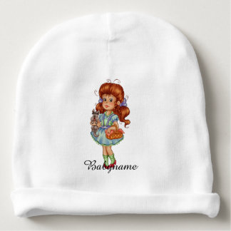 Dorothy & Toto Too Personalized Baby Beanie