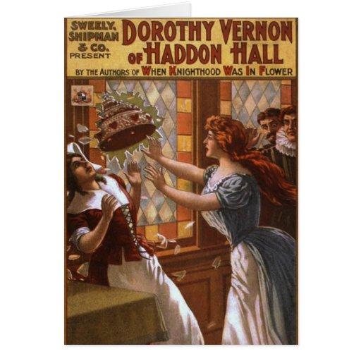 Dorothy Vernon of Haddon Hall Greeting Card